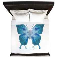 Zephyr Butterfly King Duvet