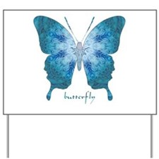 Zephyr Butterfly Yard Sign