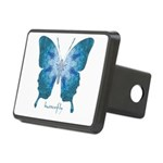 Zephyr Butterfly Rectangular Hitch Cover