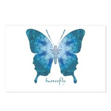 Zephyr Butterfly Postcards (Package of 8)