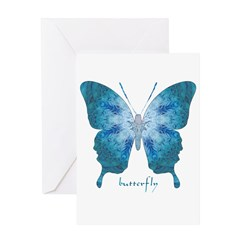 Zephyr Butterfly Greeting Card