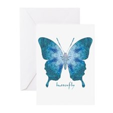 Zephyr Butterfly Greeting Cards (Pk of 20)