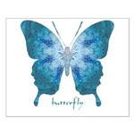 Zephyr Butterfly Small Poster