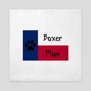 Boxer Mom Queen Duvet