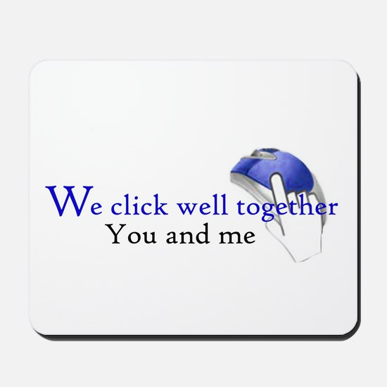 We click together Mousepad