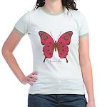 Affection Butterfly Jr. Ringer T-Shirt