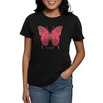 Affection Butterfly Women's Dark T-Shirt