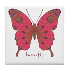 Affection Butterfly Tile Coaster