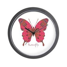 Affection Butterfly Wall Clock