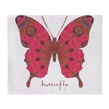 Affection Butterfly Throw Blanket