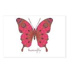 Affection Butterfly Postcards (Package of 8)