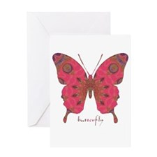 Affection Butterfly Greeting Card