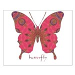 Affection Butterfly Small Poster