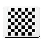 Chess Board Pattern Mousepad