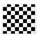 chessboardsmposterNOTEXT King Duvet