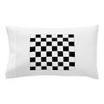 chessboardsmposterNOTEXT Pillow Case