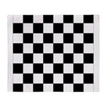 chessboardsmposterNOTEXT Throw Blanket