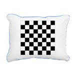 Chess Board Pattern Rectangular Canvas Pi