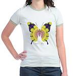 Omm Butterfly Jr. Ringer T-Shirt