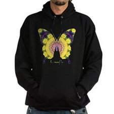 Omm Butterfly Hoodie (dark)