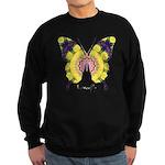 Omm Butterfly Sweatshirt (dark)