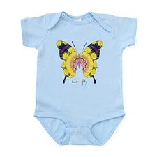 Omm Butterfly Infant Bodysuit
