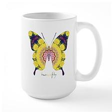 Omm Butterfly Large Mug