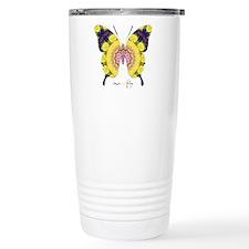 Omm Butterfly Stainless Steel Travel Mug