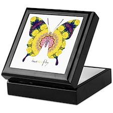 Omm Butterfly Keepsake Box