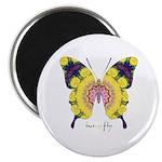 Omm Butterfly Magnet