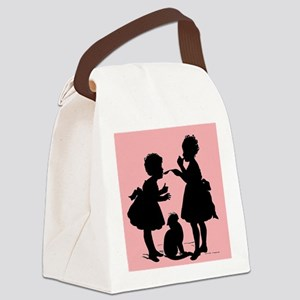 Tasting Silhouette Canvas Lunch Bag