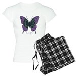 Attitude Butterfly Women's Light Pajamas