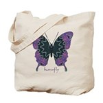 Attitude Butterfly Tote Bag