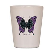 Attitude Butterfly Shot Glass