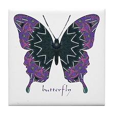 Attitude Butterfly Tile Coaster