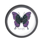 Attitude Butterfly Wall Clock