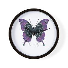 Attitude Butterfly Wall Clock