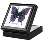 Attitude Butterfly Keepsake Box