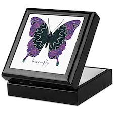 Attitude Butterfly Keepsake Box