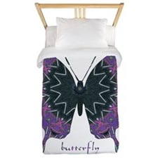 Attitude Butterfly Twin Duvet