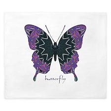 Attitude Butterfly King Duvet