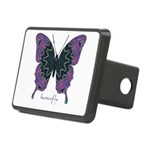 Attitude Butterfly Rectangular Hitch Cover