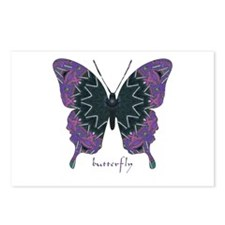 Attitude Butterfly Postcards (Package of 8)