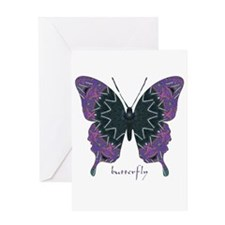 Attitude Butterfly Greeting Card
