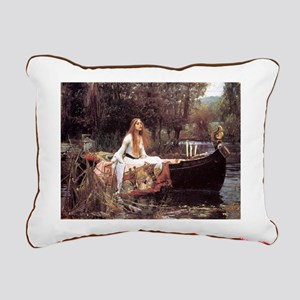 Lady of Shalott Rectangular Canvas Pillow
