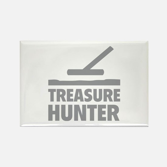 Treasure Hunter Rectangle Magnet