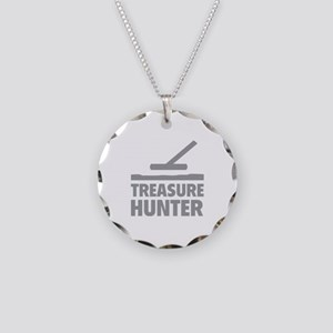 Treasure Hunter Necklace Circle Charm