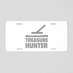 Treasure Hunter Aluminum License Plate