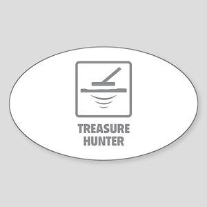 Treasure Hunter Sticker (Oval)