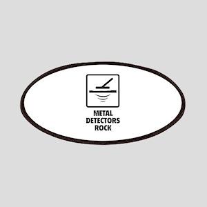 Metal Detectors Rock Patches